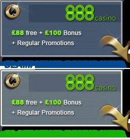 888 Online Casino Gratis Bonus
