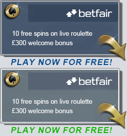 Betfair Casino – Free Bonus Spins